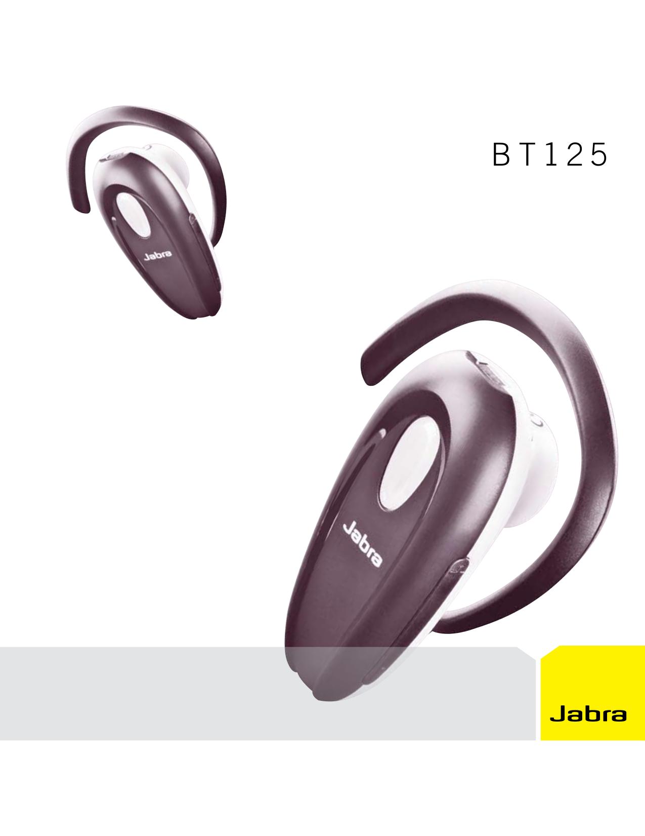 Гарнитура jabra bt 125 инструкция скачать бесплатно