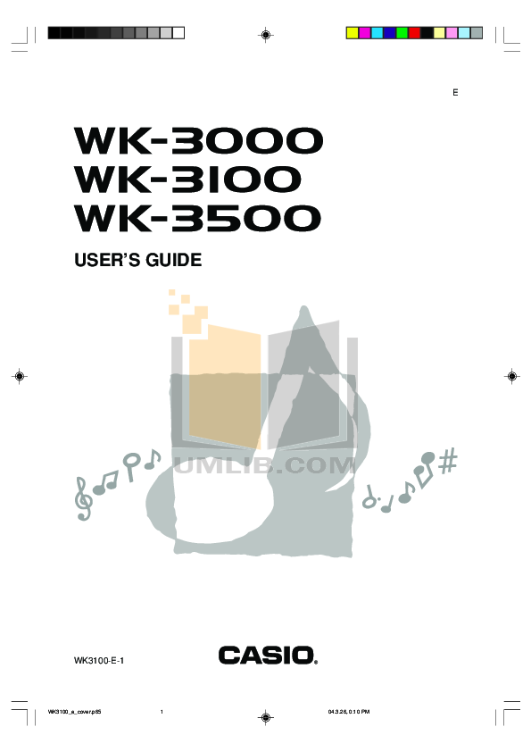 download free pdf for casio wk 3000 music keyboard manual rh umlib com casio ctk 3000 manual pdf casio wk 3000 manual pdf
