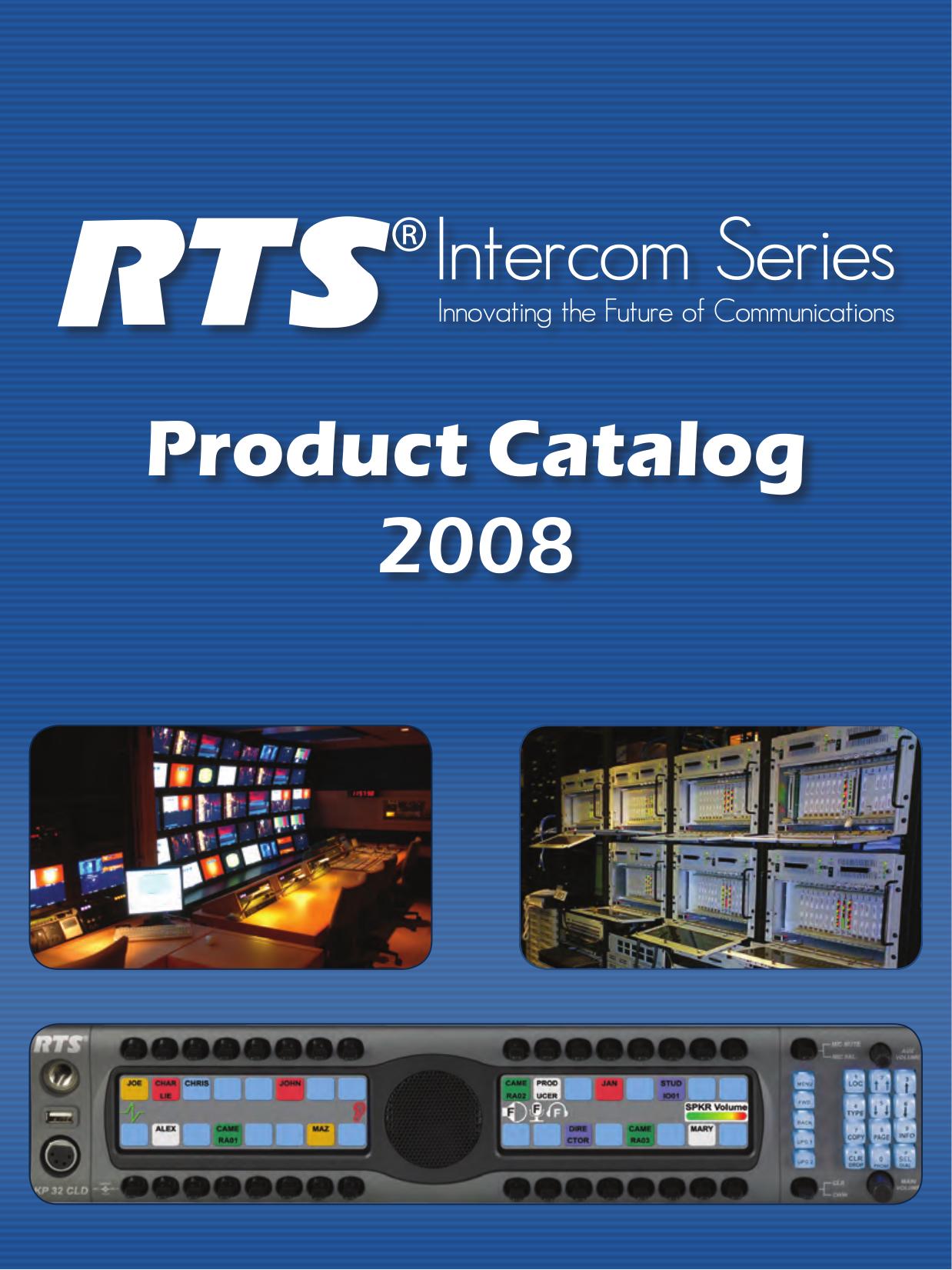 pdf for Telex Other RVON-IO IntercomSystem manual
