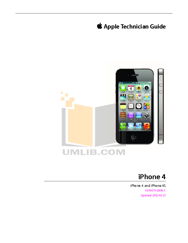 Download free pdf for Apple iPhone 4S iPhone 4S 16GB Cell Phone manual