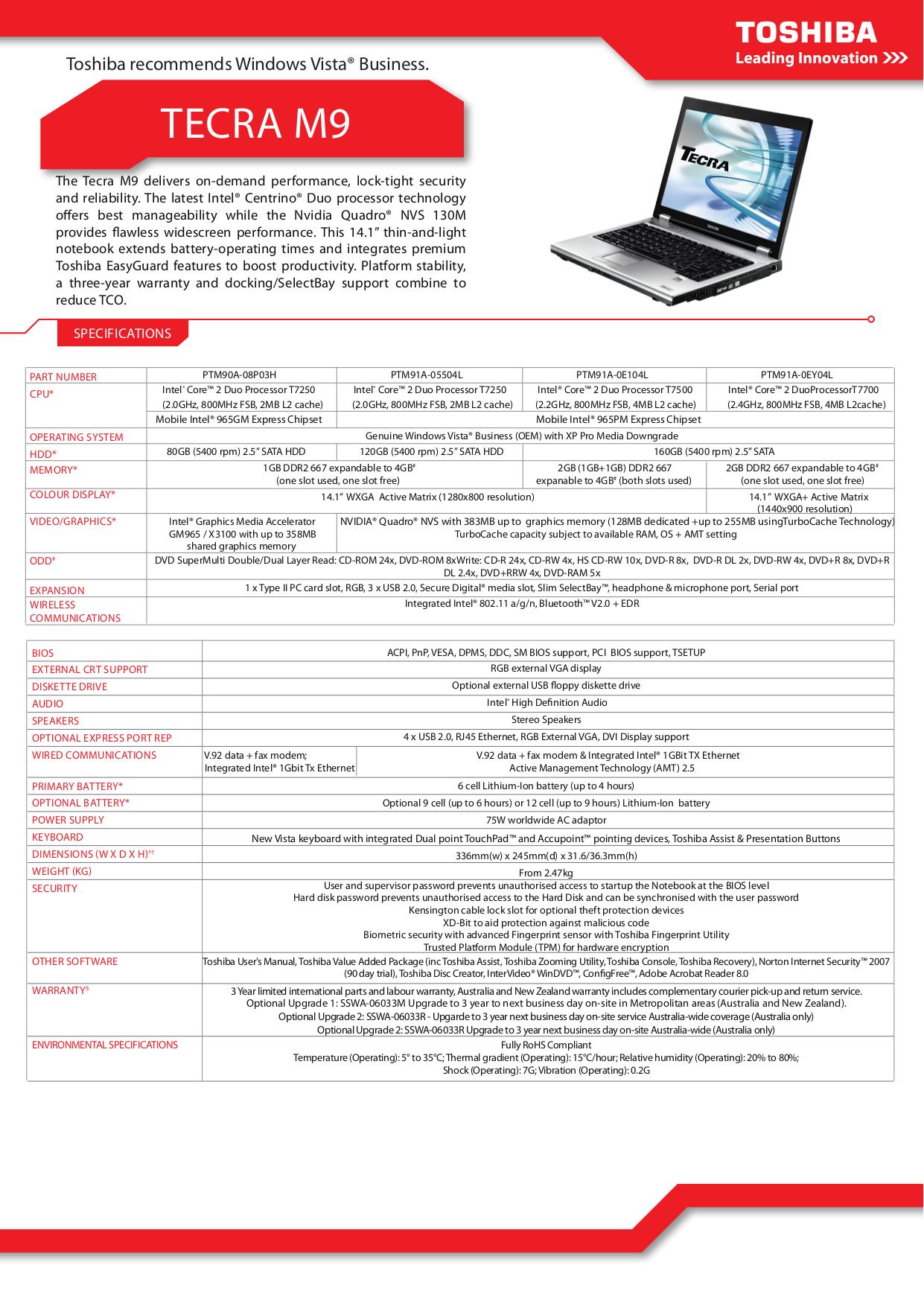 download free pdf for toshiba tecra m9 laptop manual rh umlib com