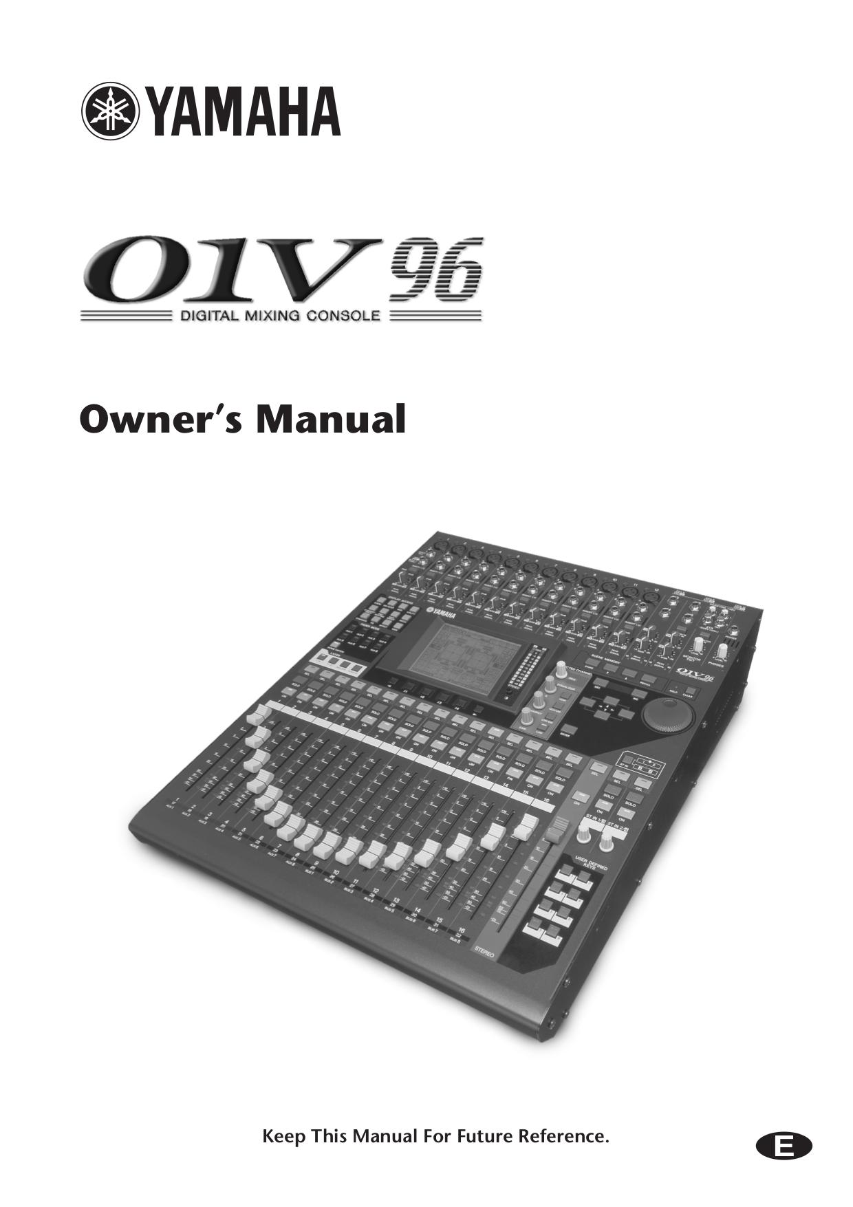 pdf for Yamaha Subwoofer SW-201 manual