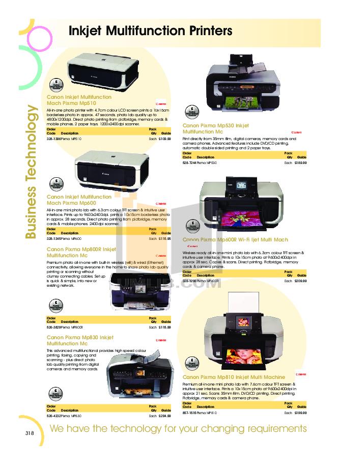 canon mp830 manual