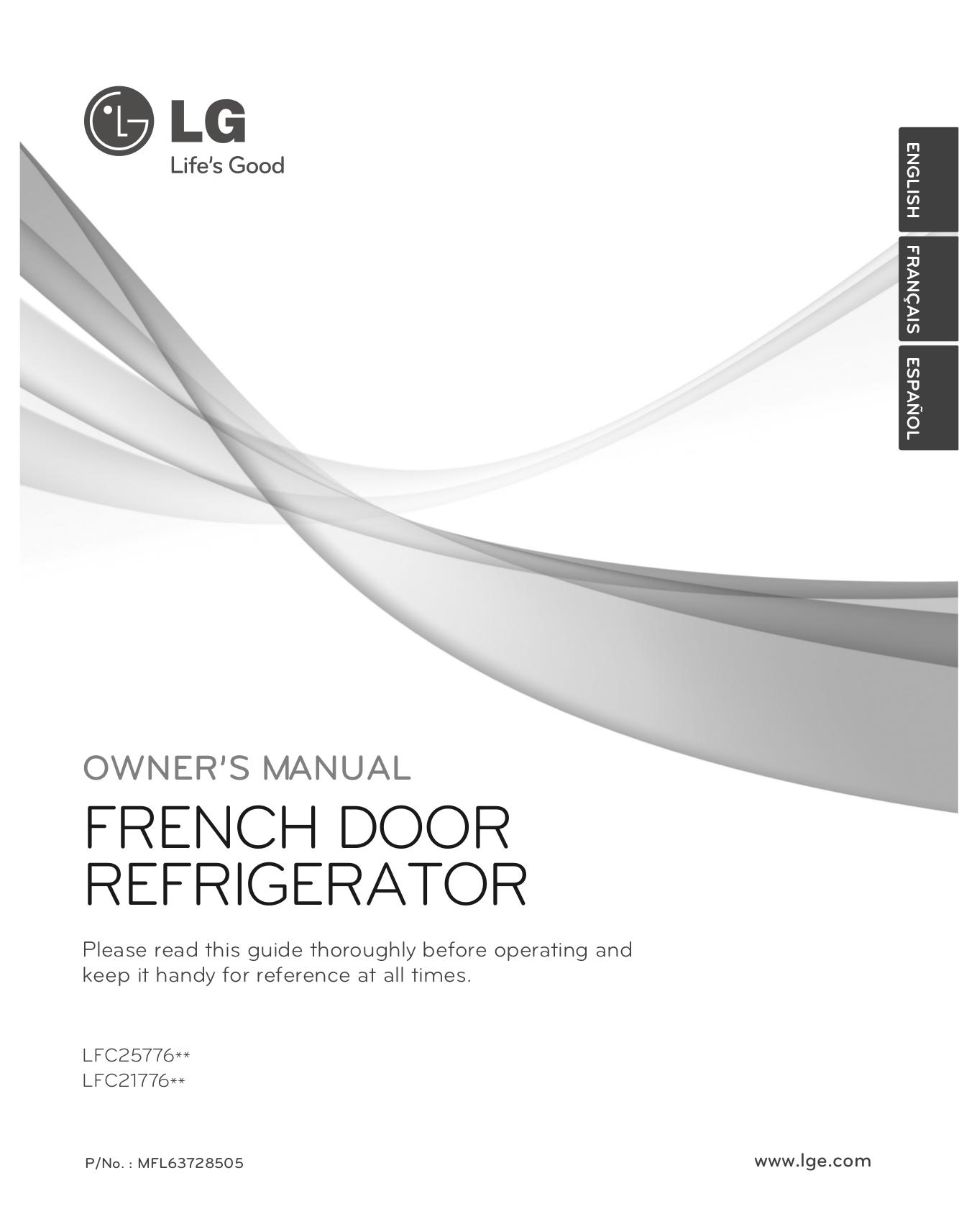 download free pdf for lg lfc25776 refrigerator manual rh umlib com owner's manual lg refrigerator lsc26905tt lg owners manual sxs refrigerator