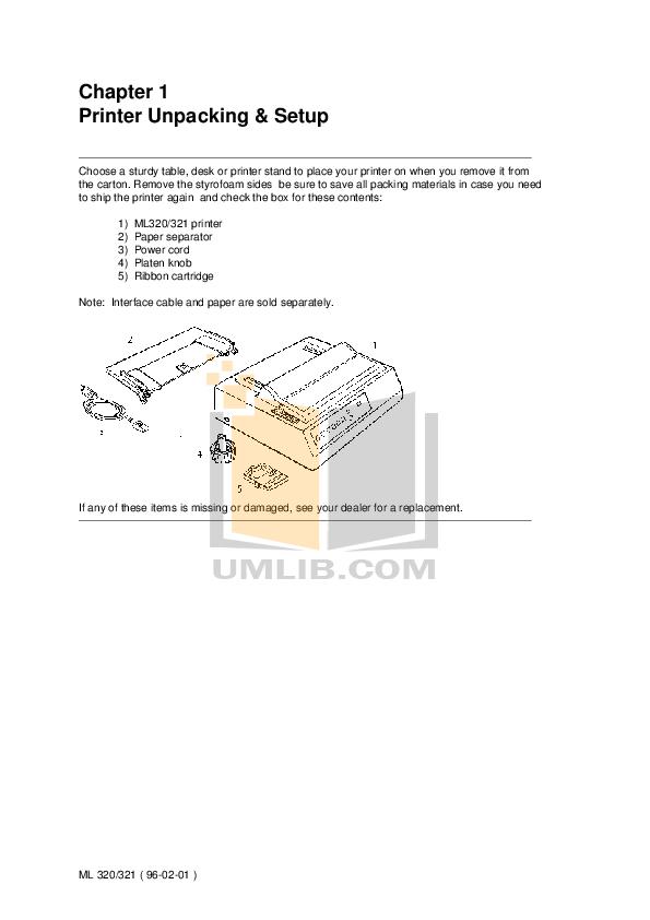 pdf for Brother Printer PT-320 manual