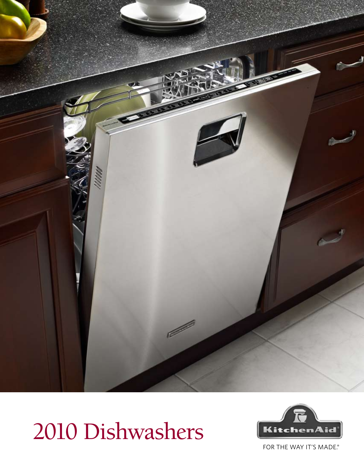 Kitchenaid Dishwasher Manual 577 0 - Kitchen Design