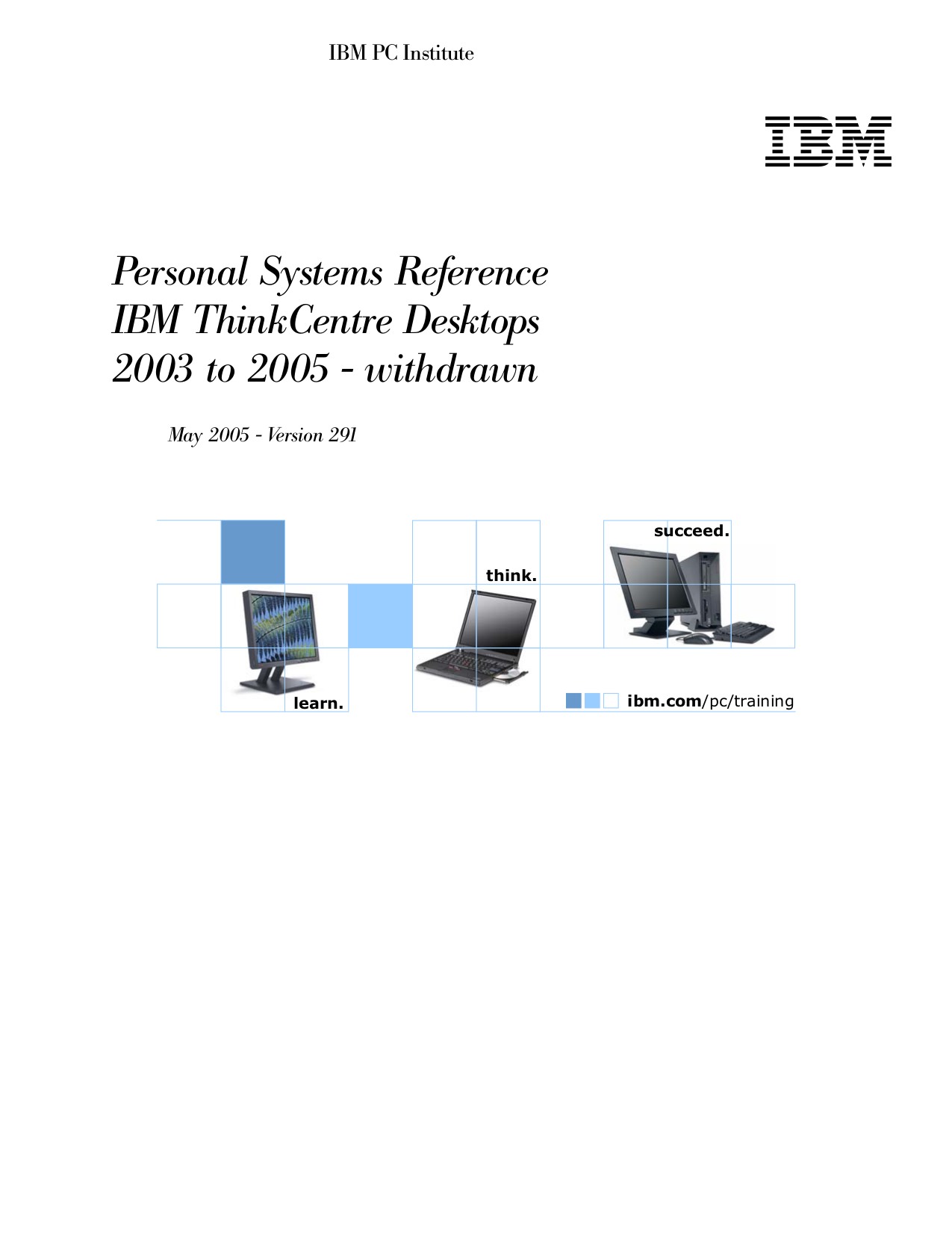 pdf for Lenovo Desktop ThinkCentre A30 8198 manual