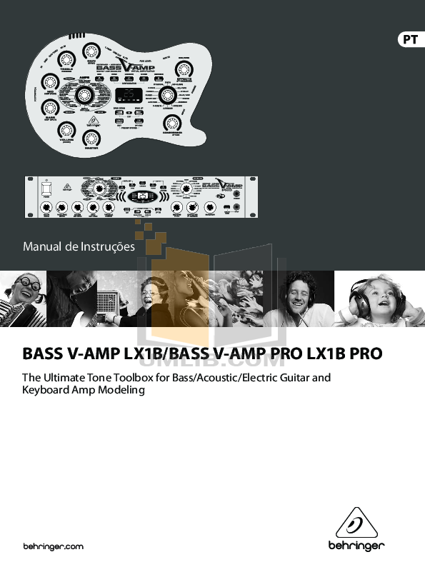 Ultrabass pro ex1200 manual.