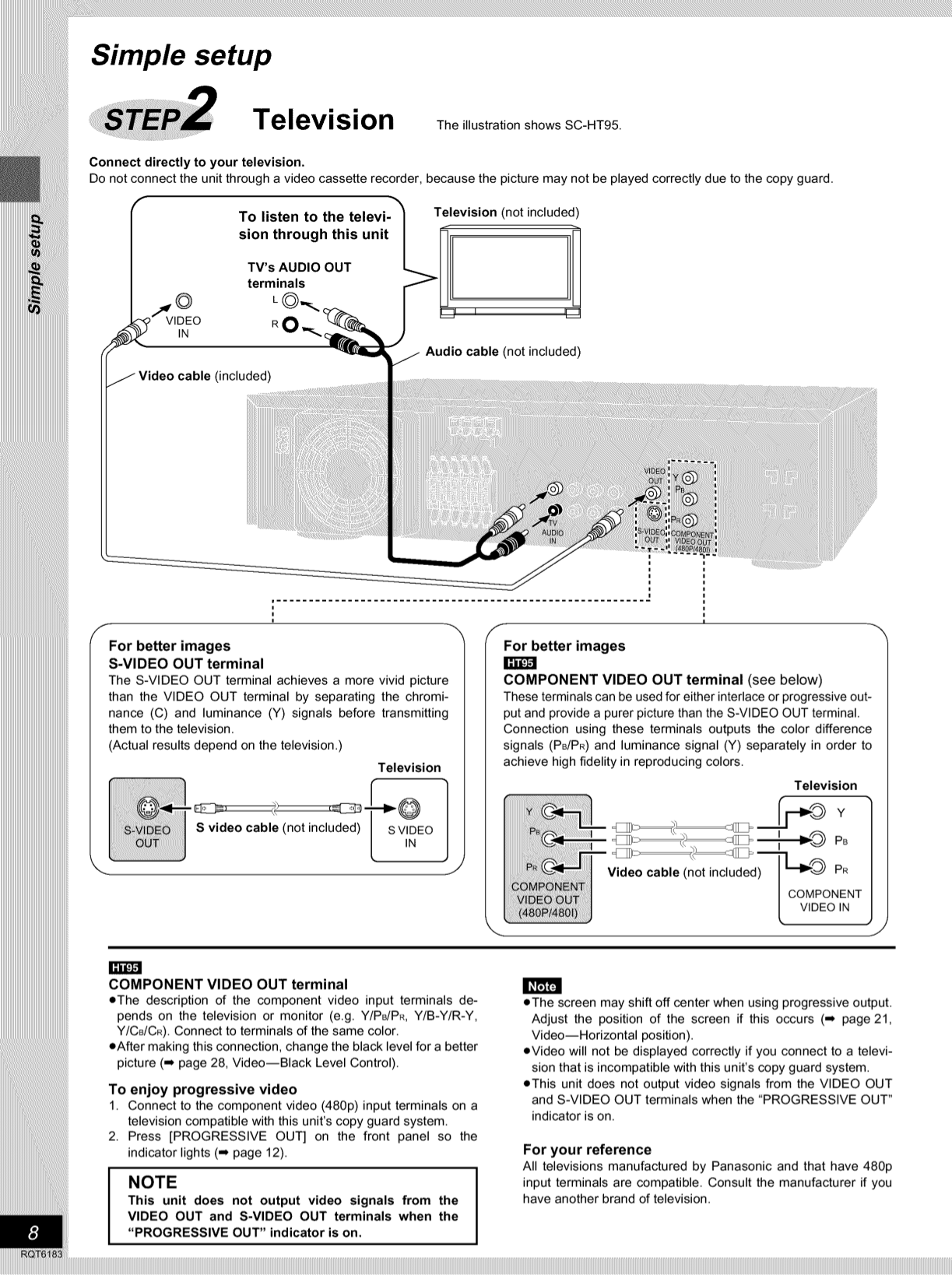 pdf manual for panasonic home theater sa ht75 rh umlib com panasonic sa-ht75 user manual panasonic sa-ht75 service manual