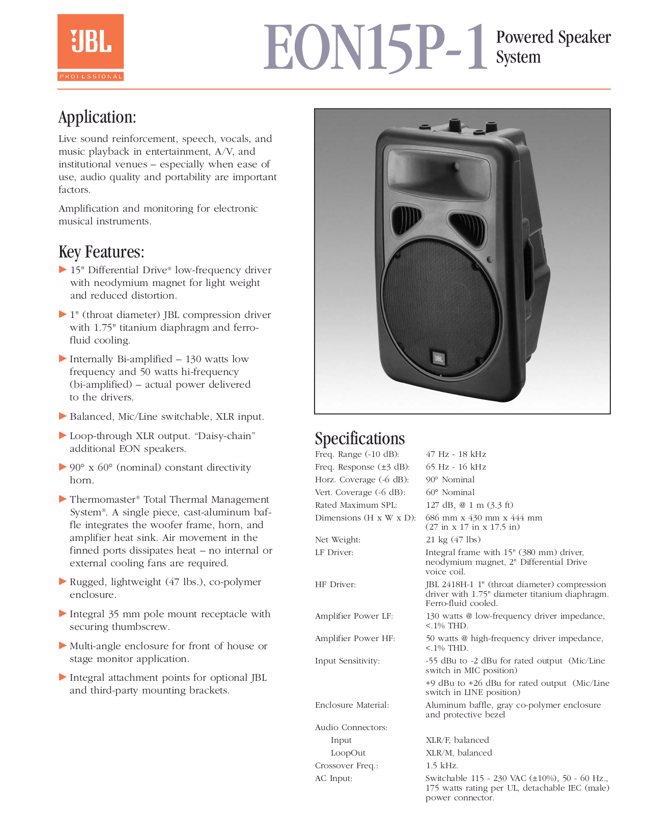download free pdf for jbl 250ti speaker manual rh umlib com jbl eon service manual jbl eon service manual