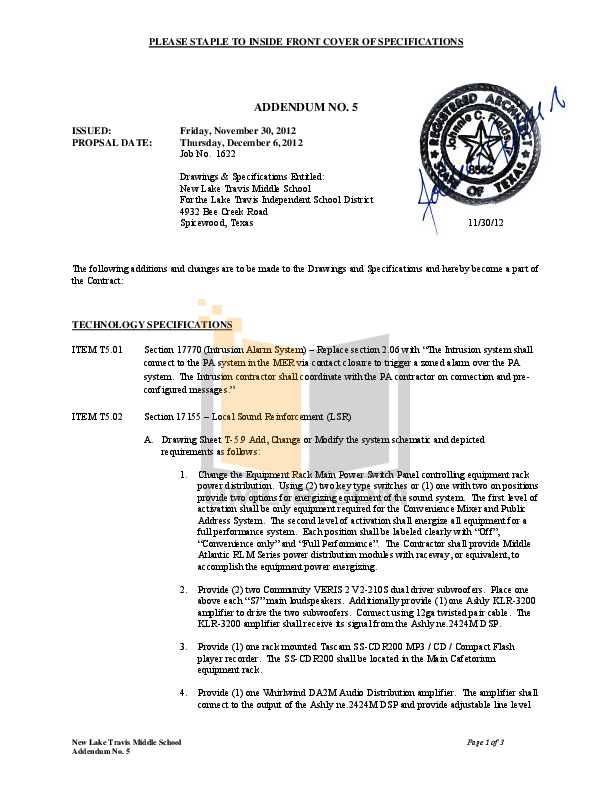pdf for Ashly Amp TRA-2150 manual