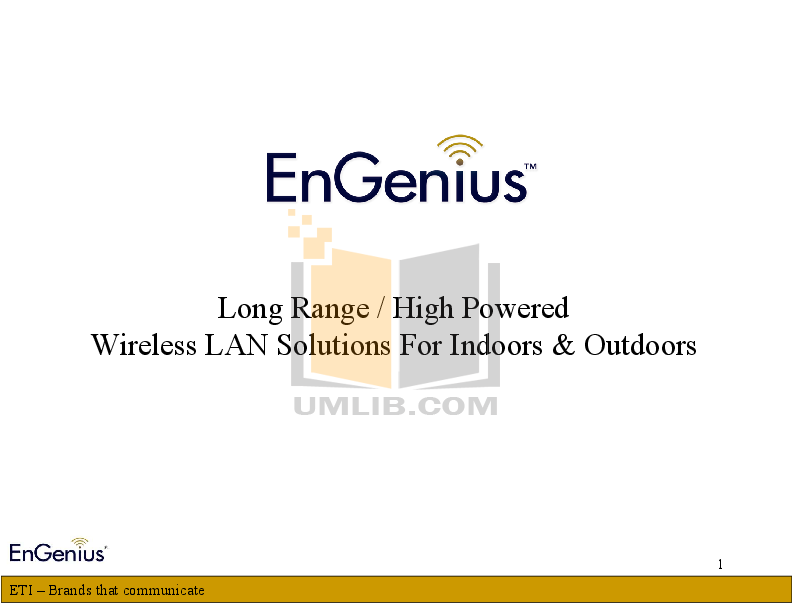 pdf for EnGenius Wireless Router ESR-1221EXT manual