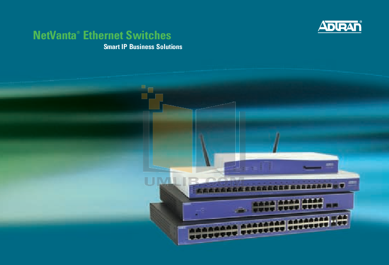 pdf for ADTRAN Switch NetVanta 1234 manual