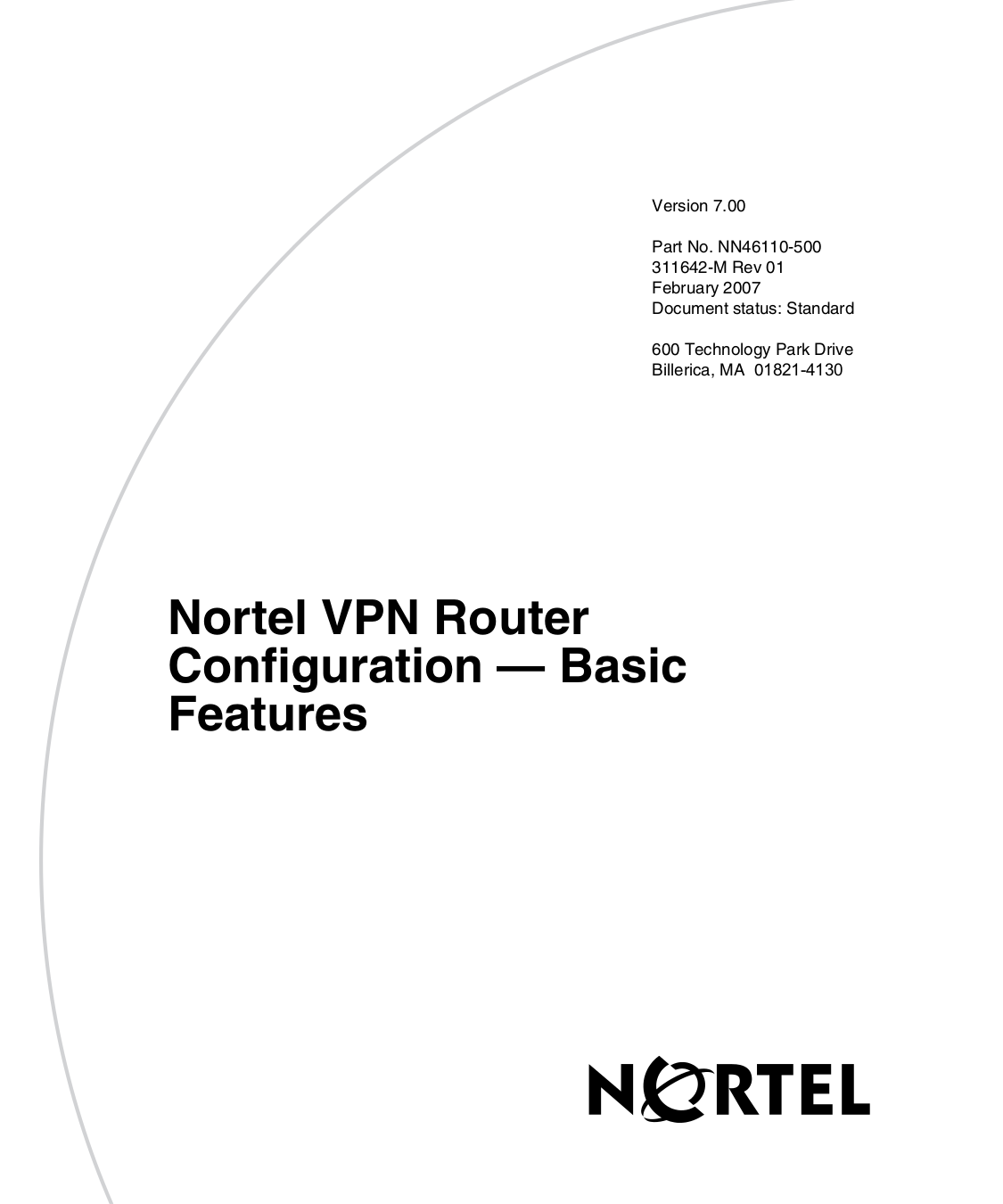 pdf for Nortel Router 1700 manual
