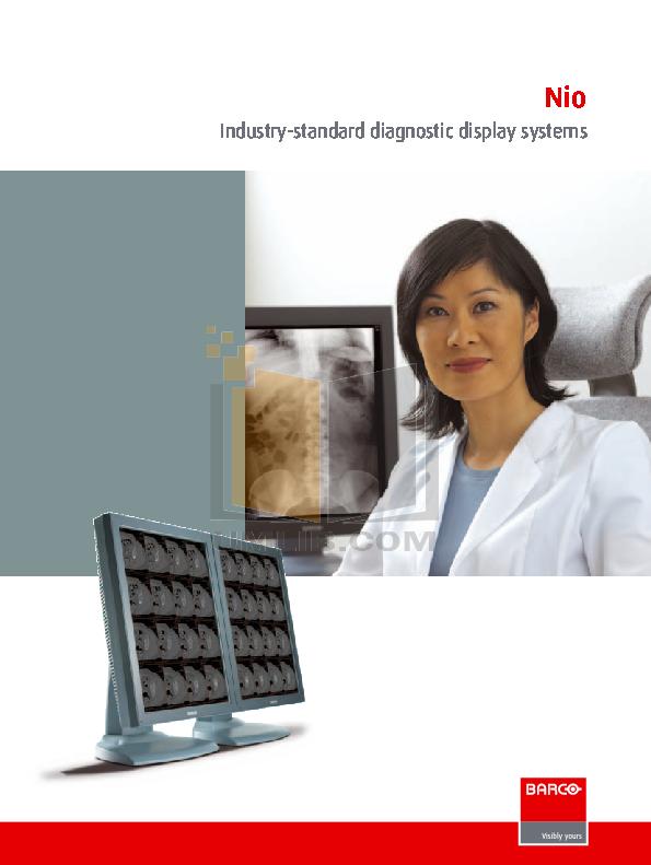 pdf for Barco Monitor Nio Color 2MP manual