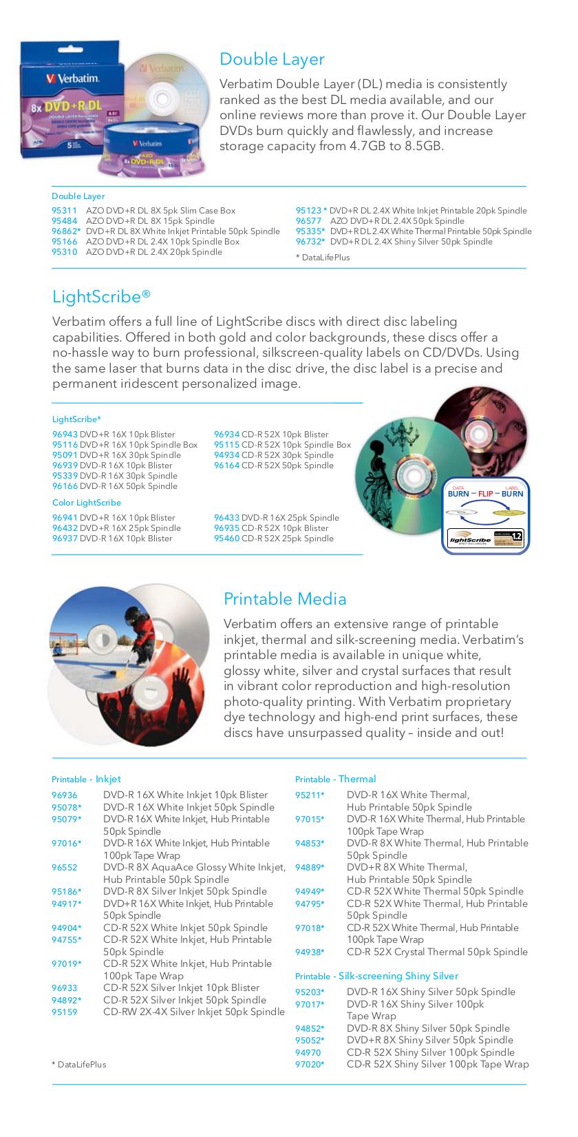 Verbatim Storage Acclaim 500GB pdf page preview