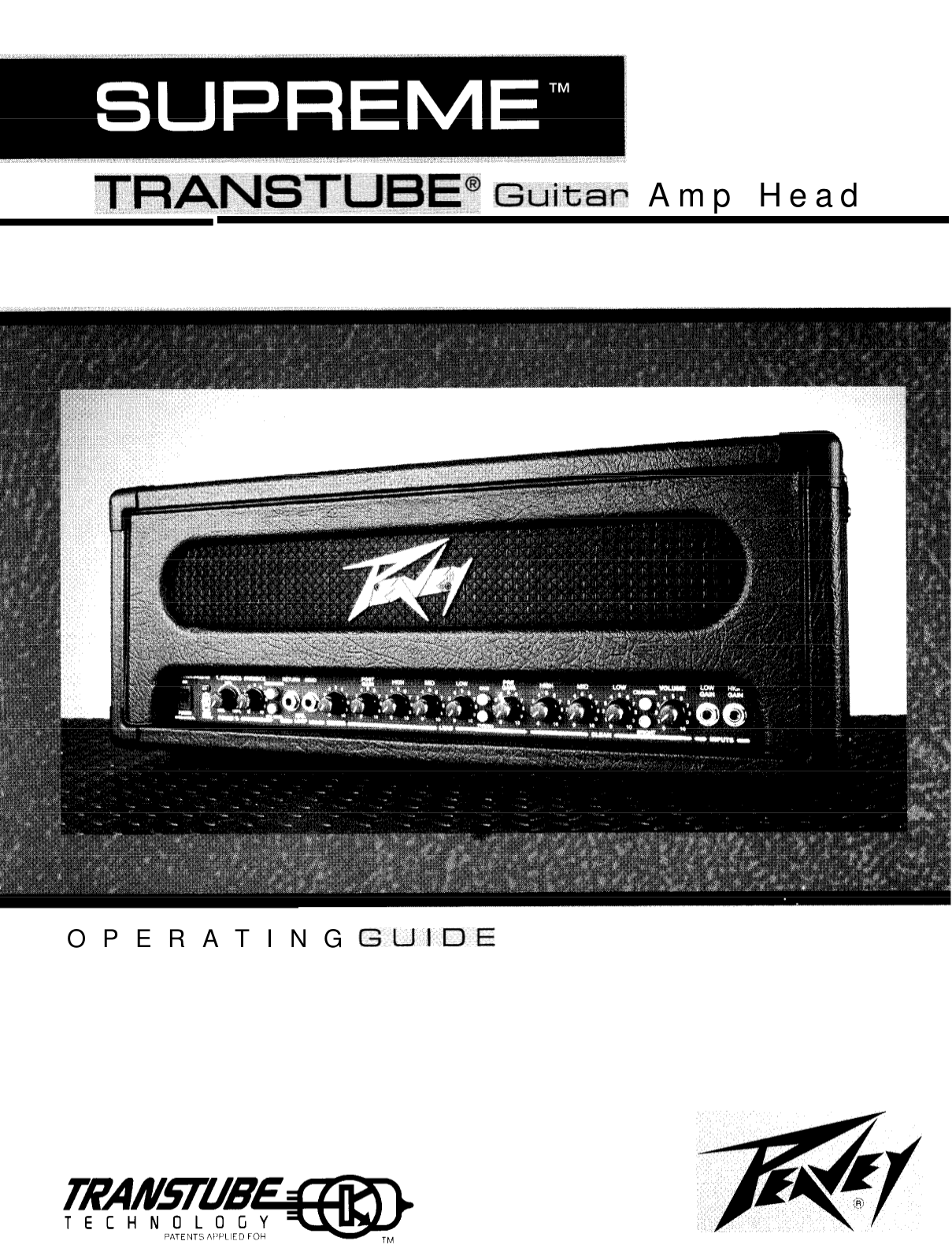 pdf for Peavey Guitar Generation manual
