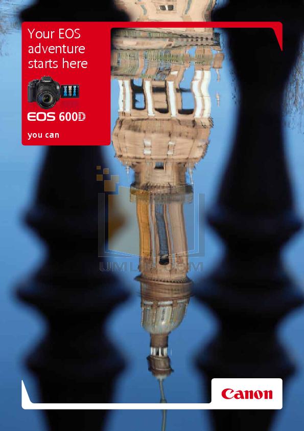 pdf for Canon Digital Camera EOS 600D manual