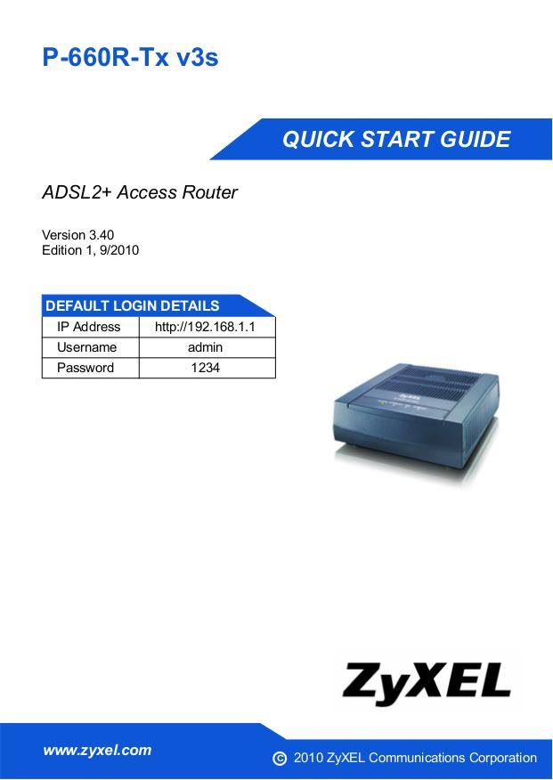 Zyxel p-660r t1 v3s modem port açma