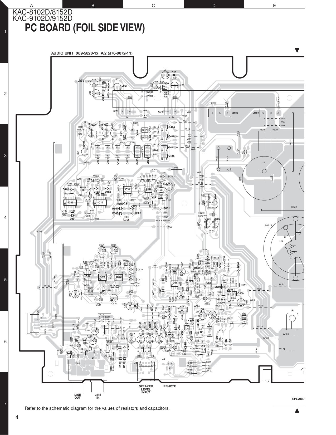 Wiring Diagram For Kenwood Amp : Pdf manual for kenwood amp kac