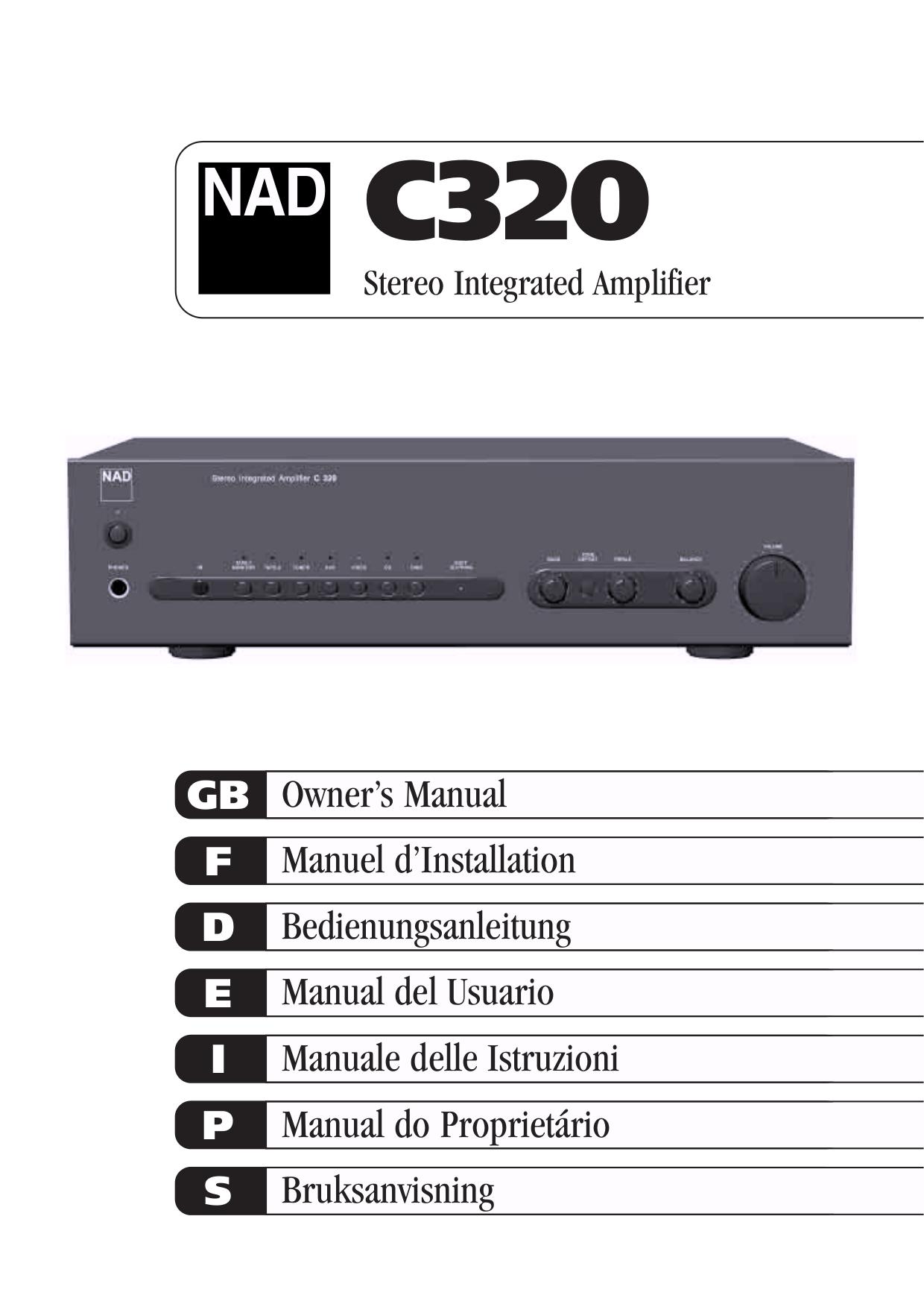 download free pdf for nad c320 amp manual rh umlib com nad c320 service manual nad c320bee review