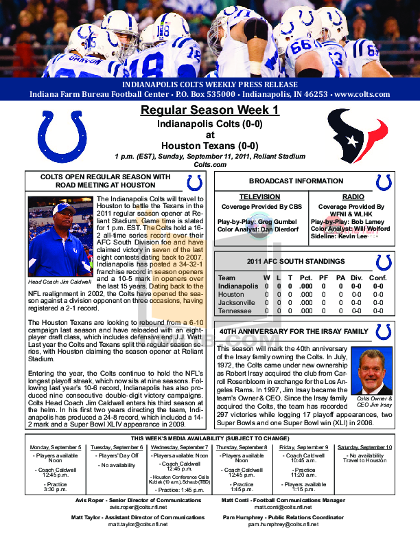 pdf for Gametime Watch NFL-FH-NYG manual
