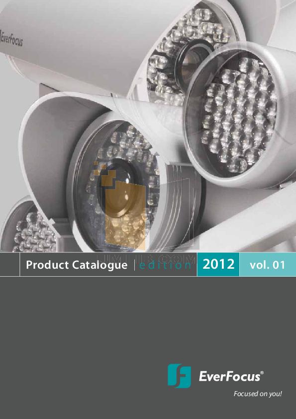 pdf for EverFocus Security Camera EPTZ100 manual