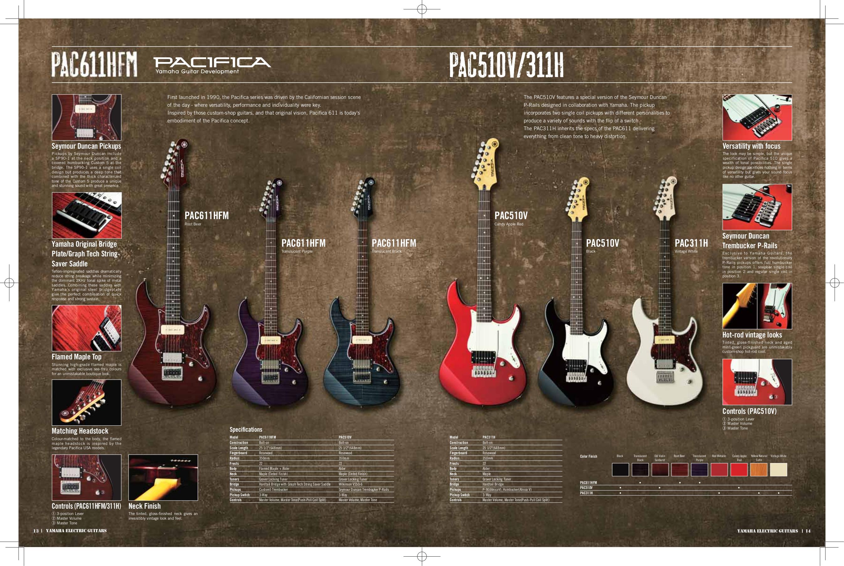 pdf manual for yamaha guitar pac212vfm. Black Bedroom Furniture Sets. Home Design Ideas