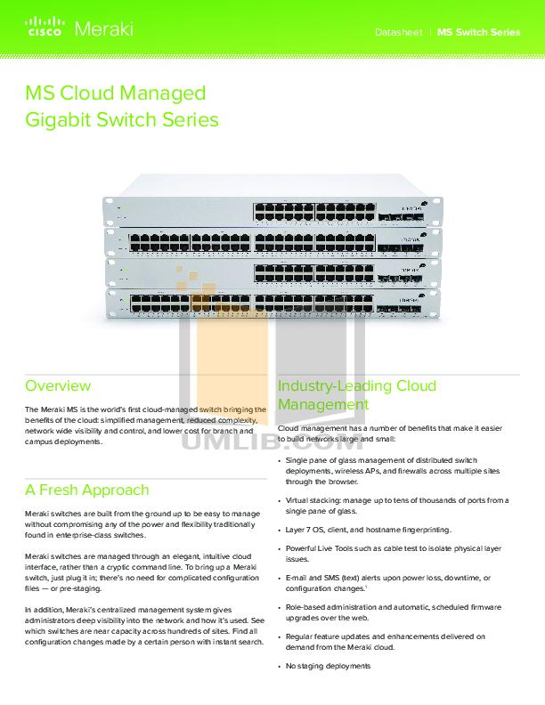pdf for Encore Switch EN-MS24 manual