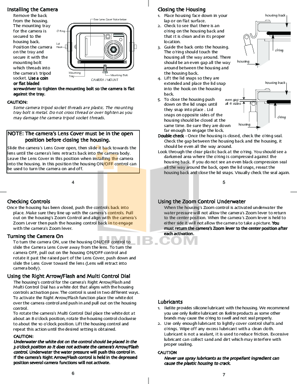 Canon Digital Camera Powershot S80 pdf page preview