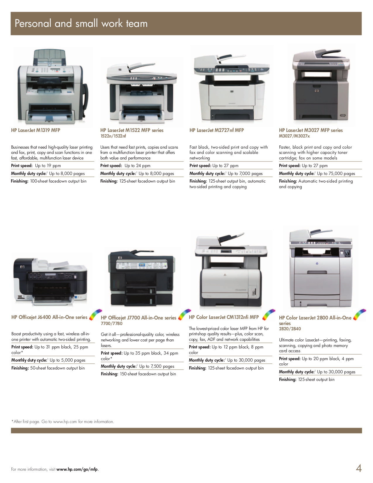 ... HP Multifunction Printer Laserjet,Color Laserjet M2727nf pdf page  preview ...