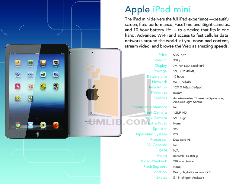 PDF manual for Apple Tablet iPad iPad 2 3G 32GB Verizon