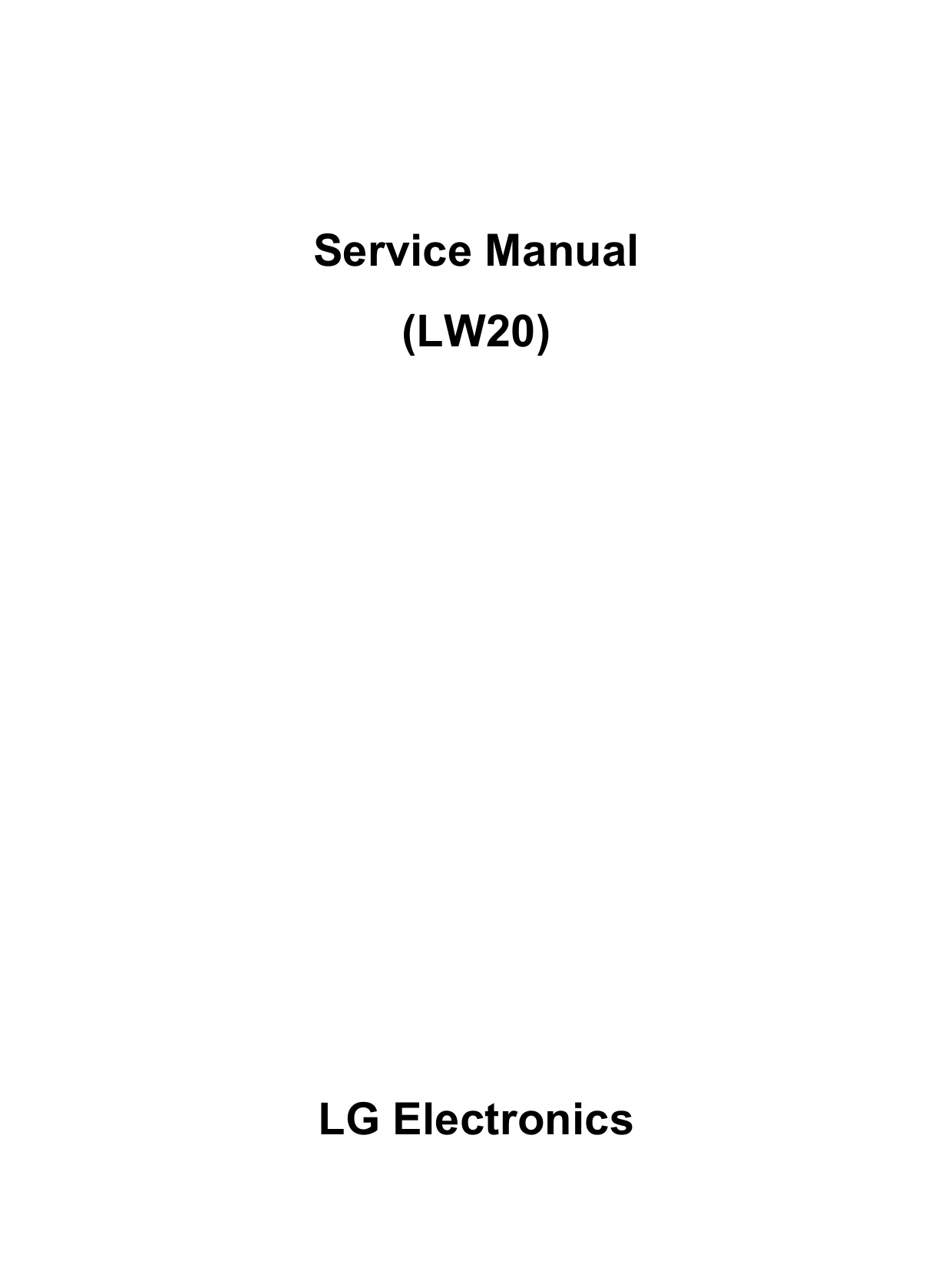 pdf for LG Monitor W2452V manual