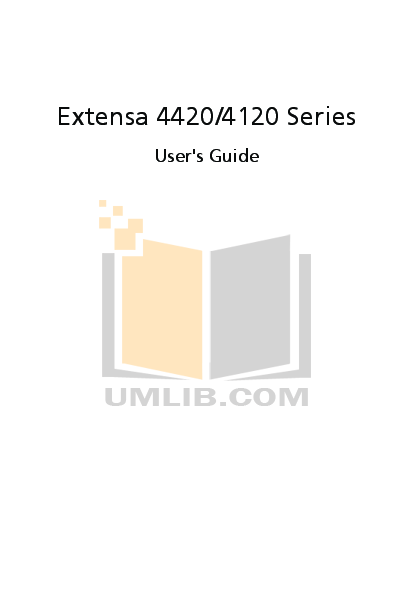 download free pdf for acer extensa 2300 laptop manual rh umlib com Acer Extensa 4420 Recovery Disc Acer Extensa 5420