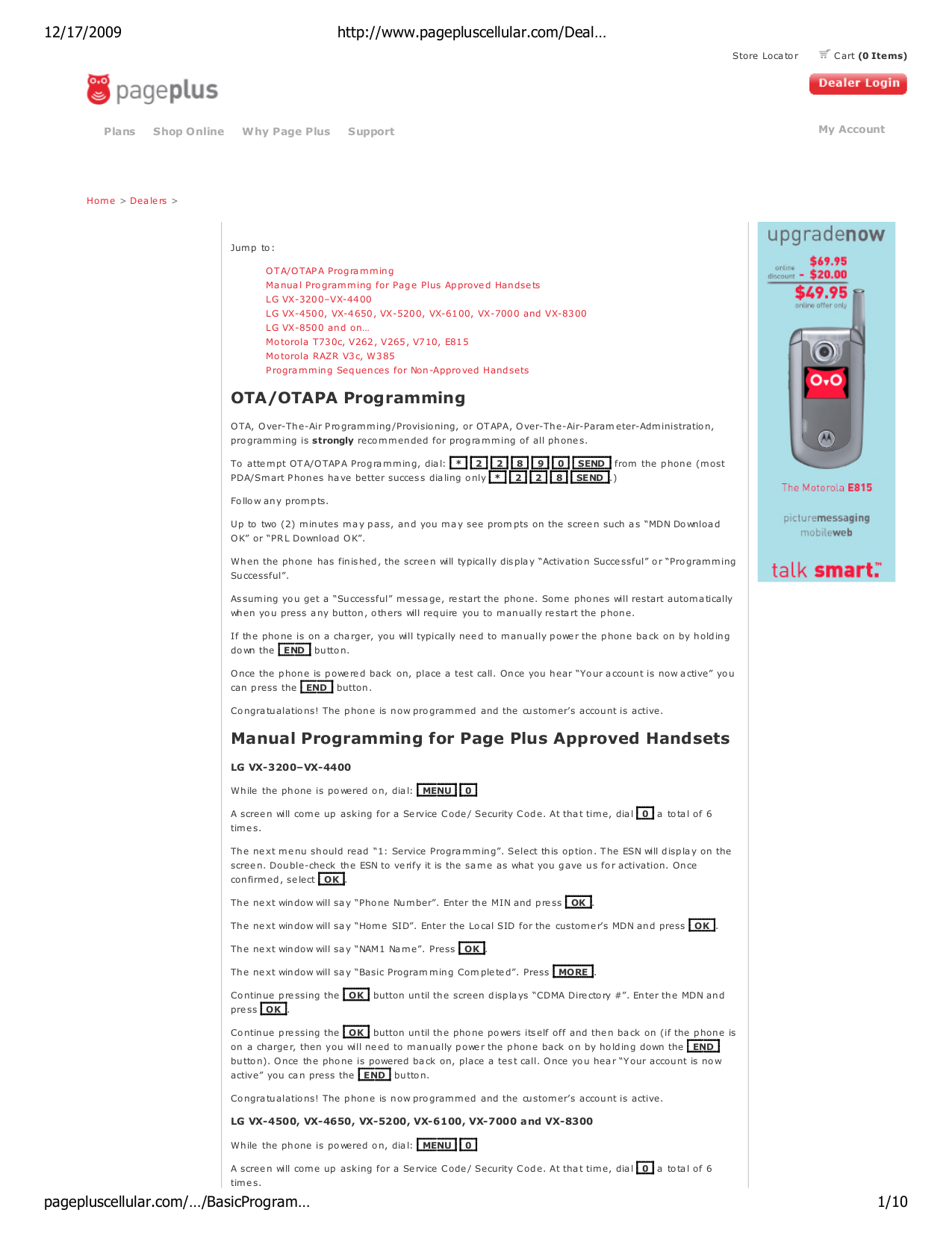 pdf for Samsung Cell Phone SCH-A630 manual