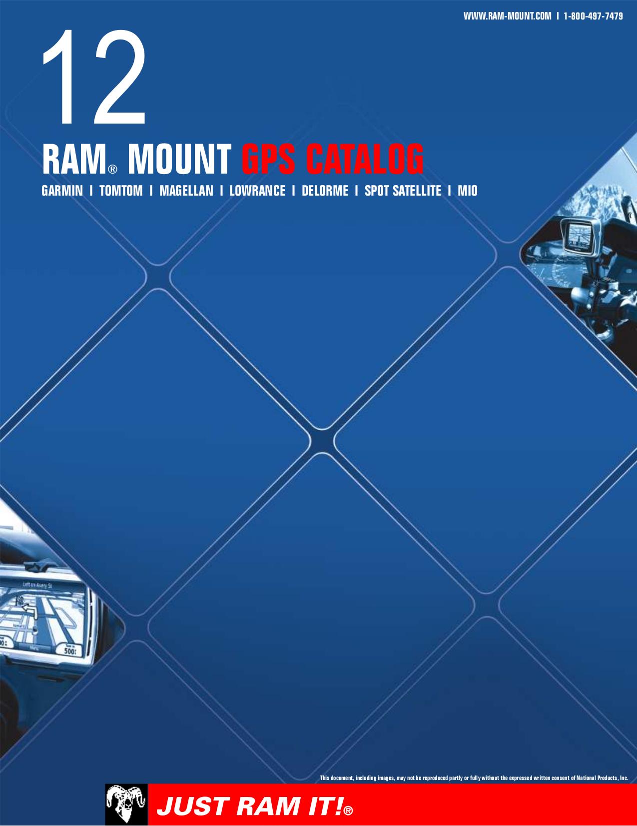 pdf for Lowrance GPS RAM manual