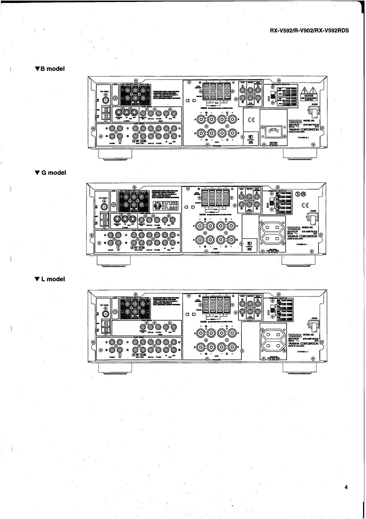pdf manual for yamaha receiver r v902 rh umlib com Yamaha YZF-R6 Yamaha YZF-R6