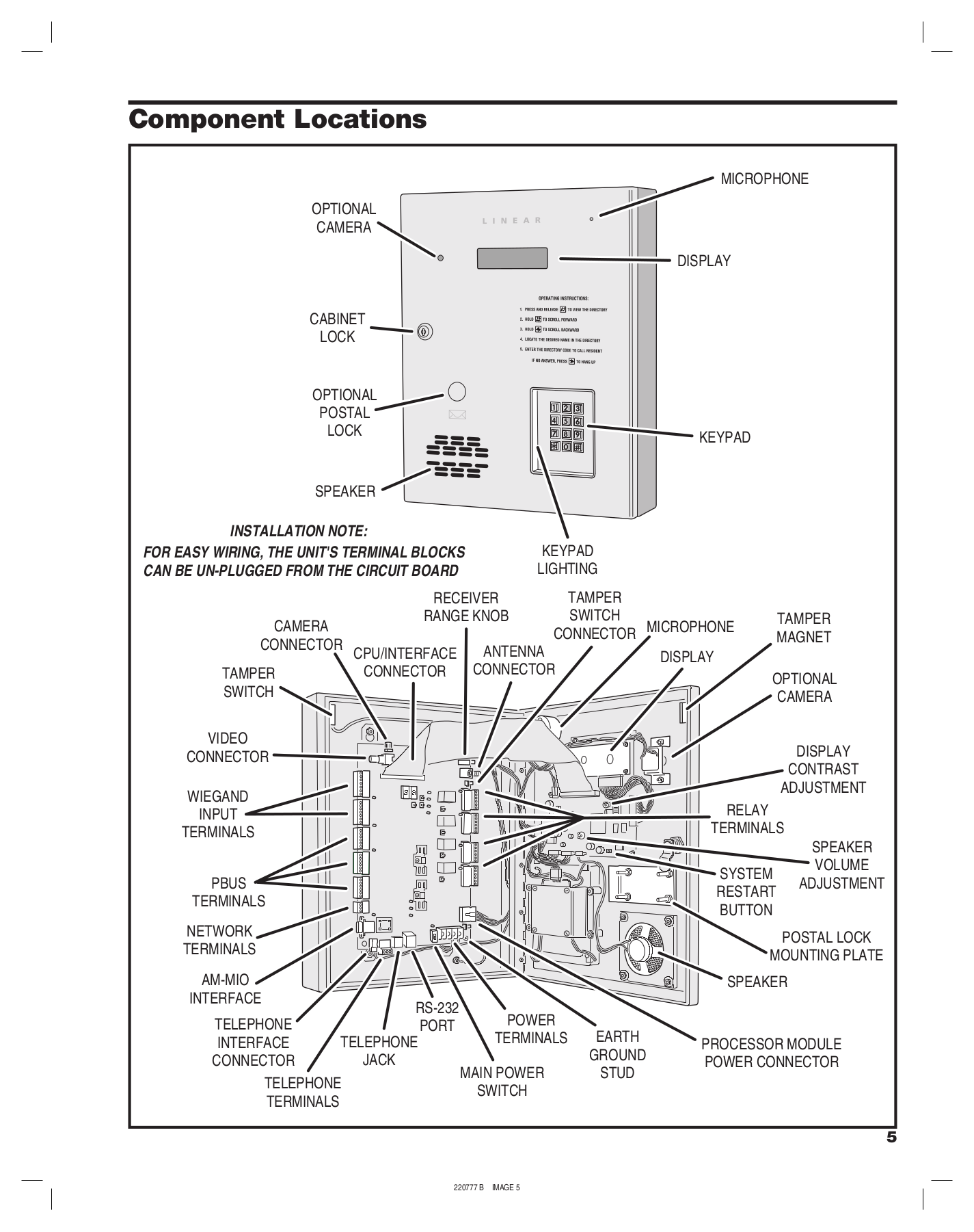 Linear_AE 1000_Manual_Commercial_Access_Control_up_to_4_Gate_Entry.pdf 4 pdf manual for philips radio ae1000  at webbmarketing.co