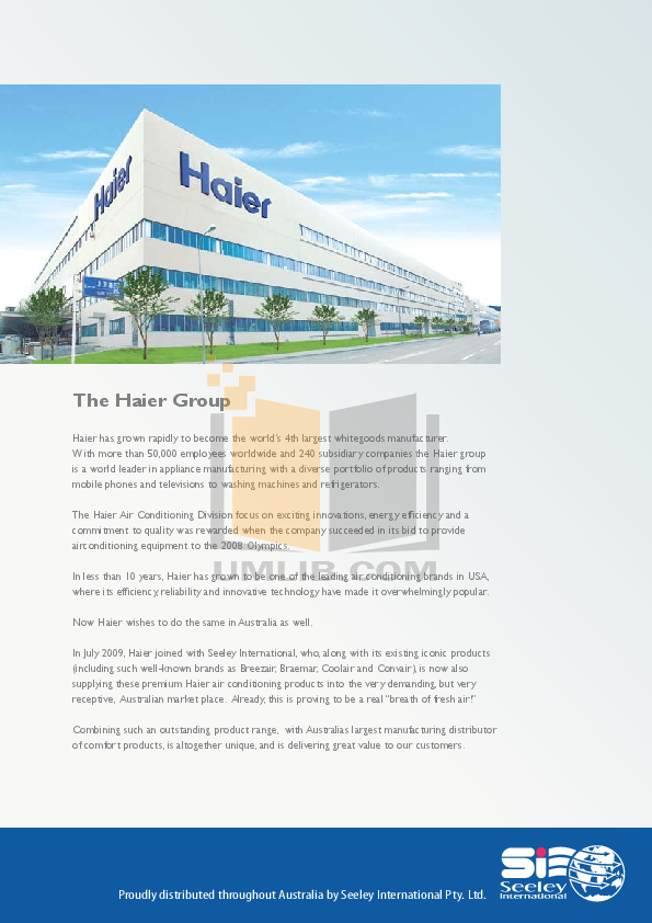 marketing mix haier group