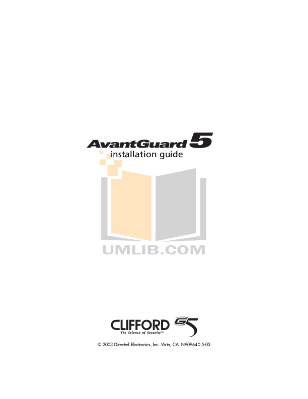 download free pdf for dei clifford smart remote start 3 car alarms other manual