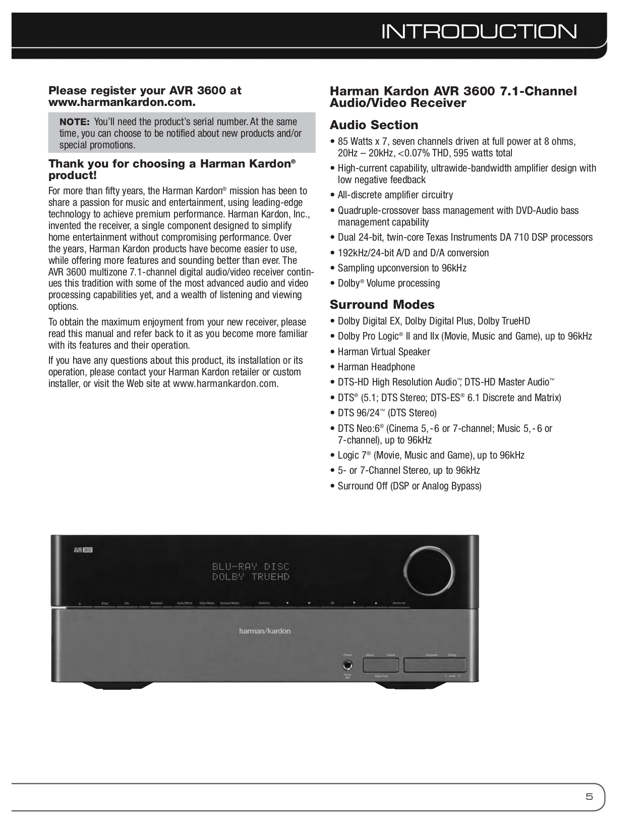 ... Kenwood Receiver VR-716 pdf page preview ...