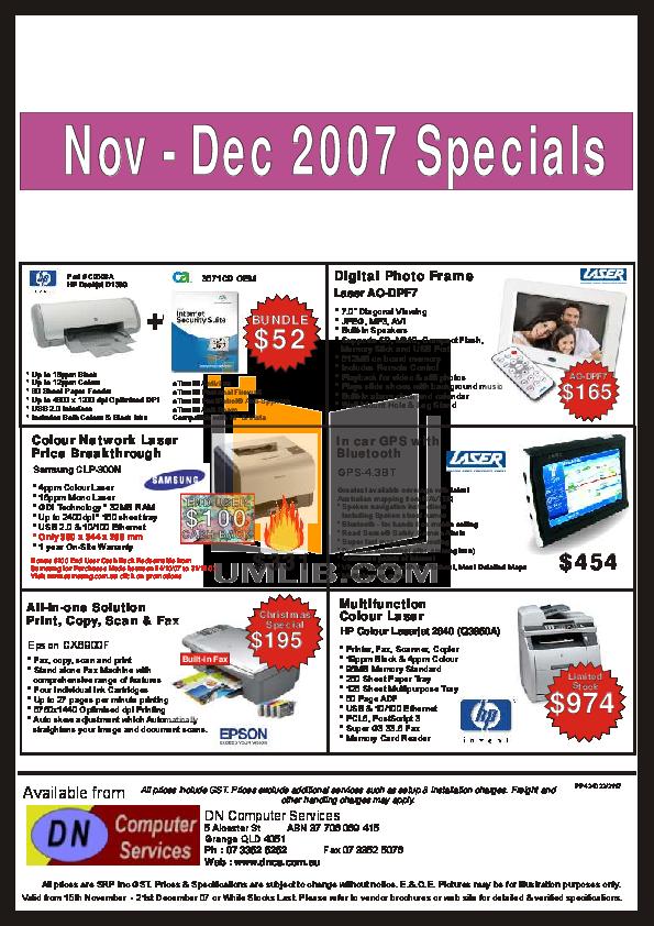 pdf for Acer Desktop AcerPower 4400 manual