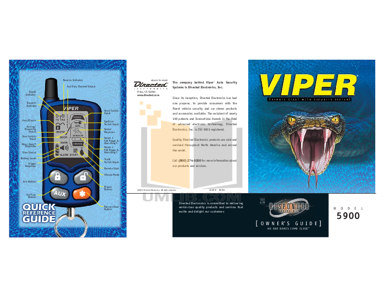 G5301V_05 06post.pdf 0 wat download free pdf for dei viper 5000 car alarms other manual viper 5000 wiring diagram at virtualis.co