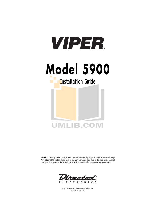 Viper 5900 installation.pdf 0 wat download free pdf for dei viper 5000 car alarms other manual viper 5000 wiring diagram at edmiracle.co