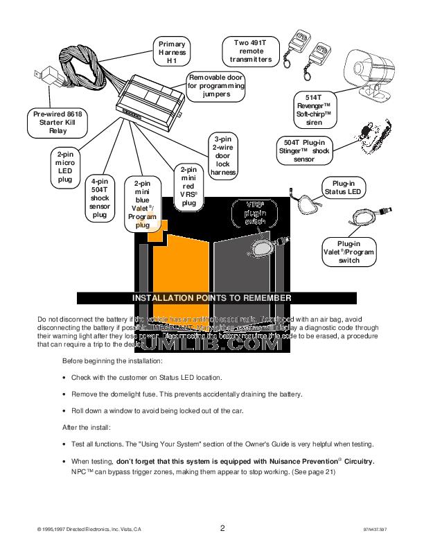 viper alarm installation manual pdf