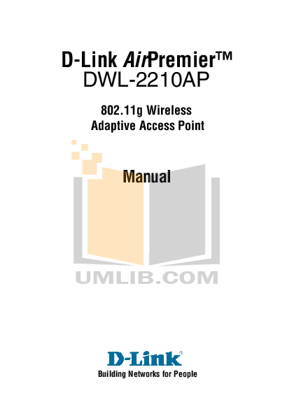 pdf for D-link Other DWL-2210AP manual