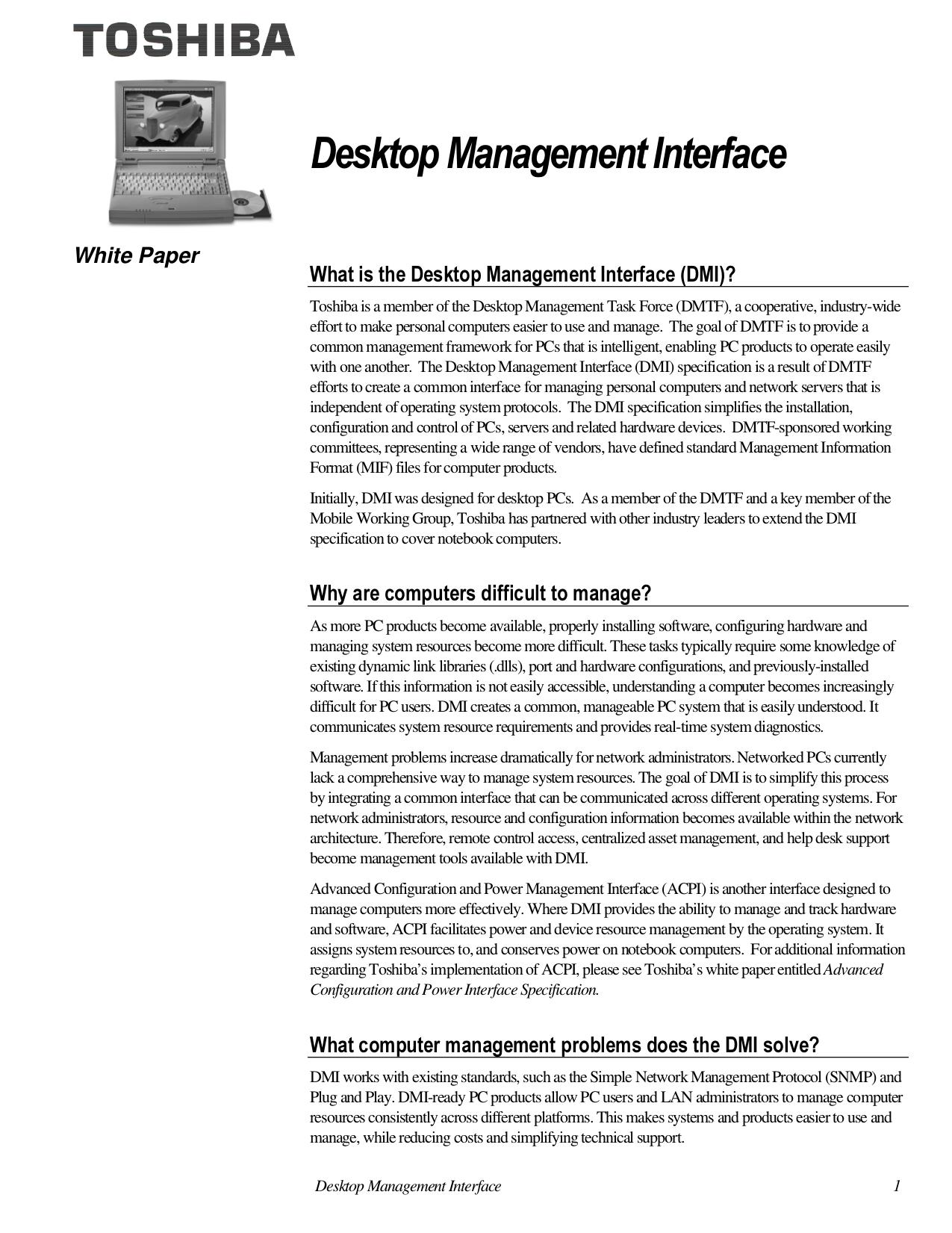 PDF manual for Toshiba Laptop Satellite 4010CDS
