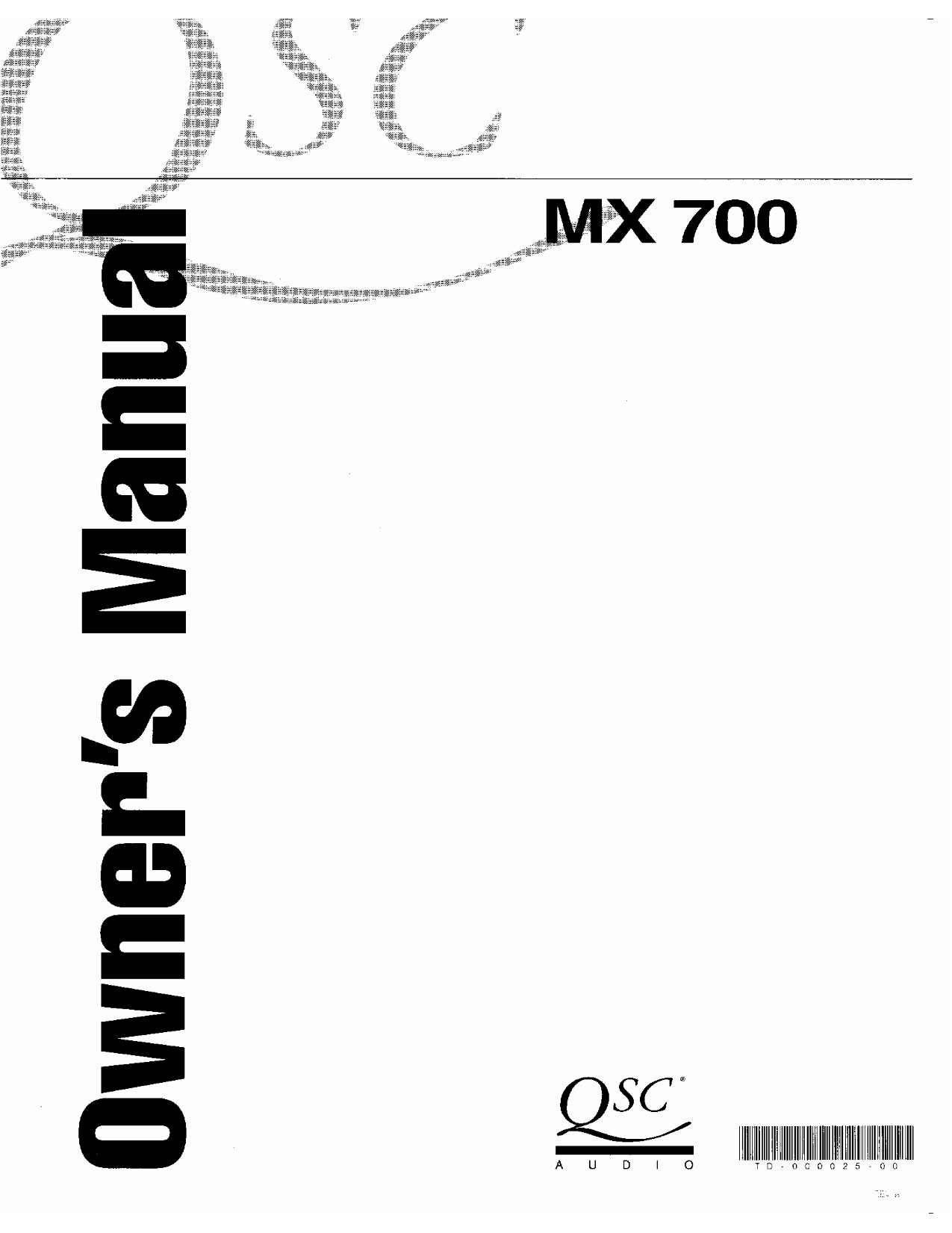 pdf for Kicker Car Amplifier MX700.5 manual