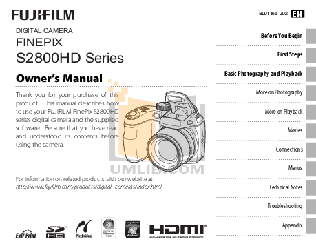 download free pdf for fujifilm finepix s2800hd digital camera manual rh umlib com