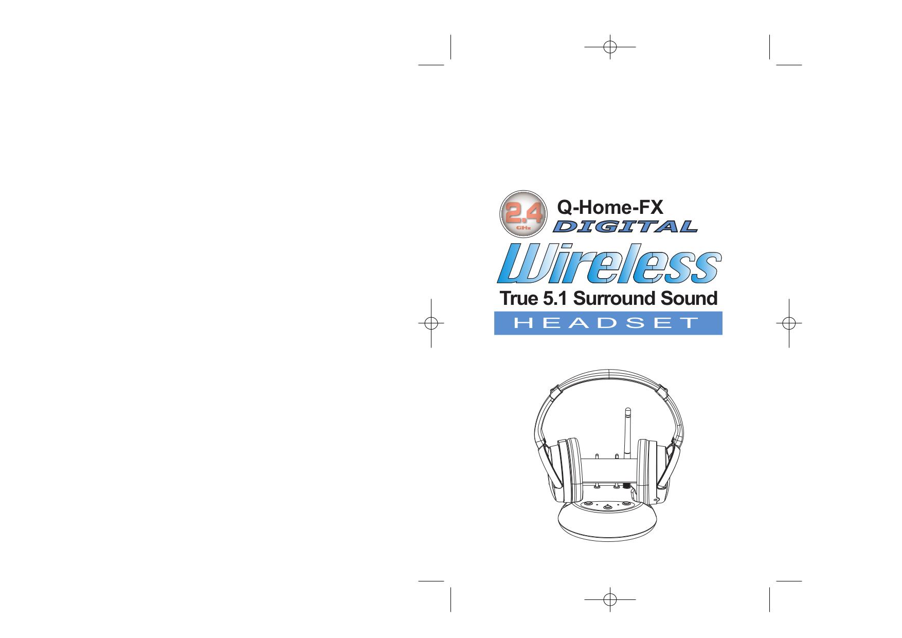 pdf for LTB Headphone Q-Home-FX manual